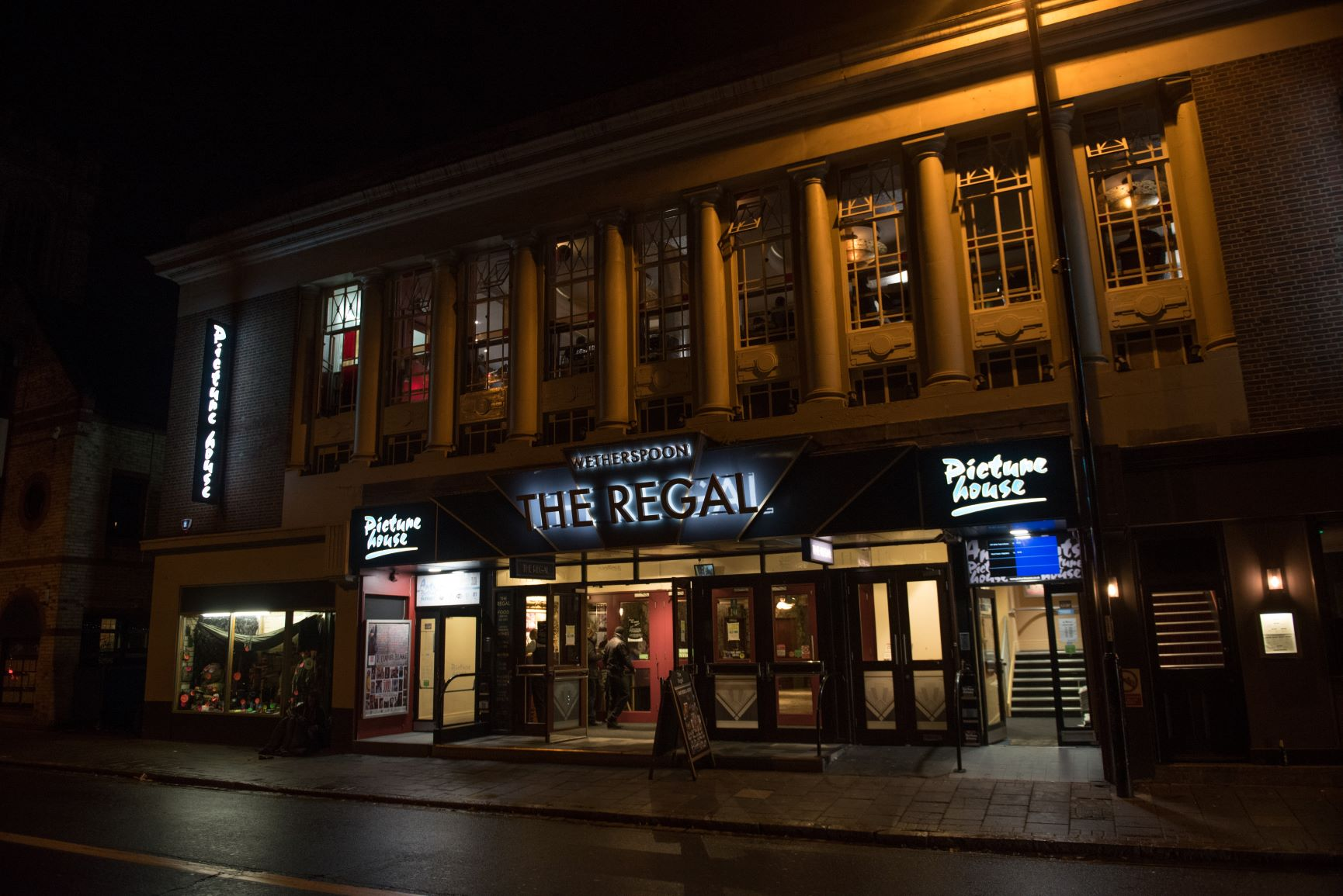 front of the arts picturehouse cinema Cambridge