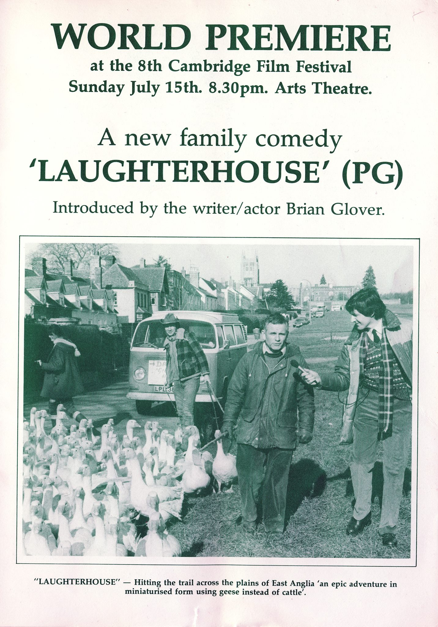 World Premiere Laughter House