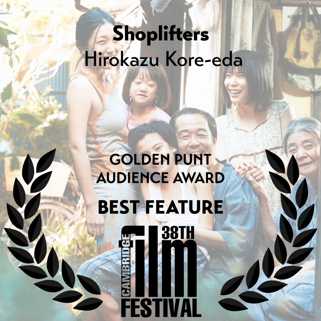 shoplifters golden punt award winner