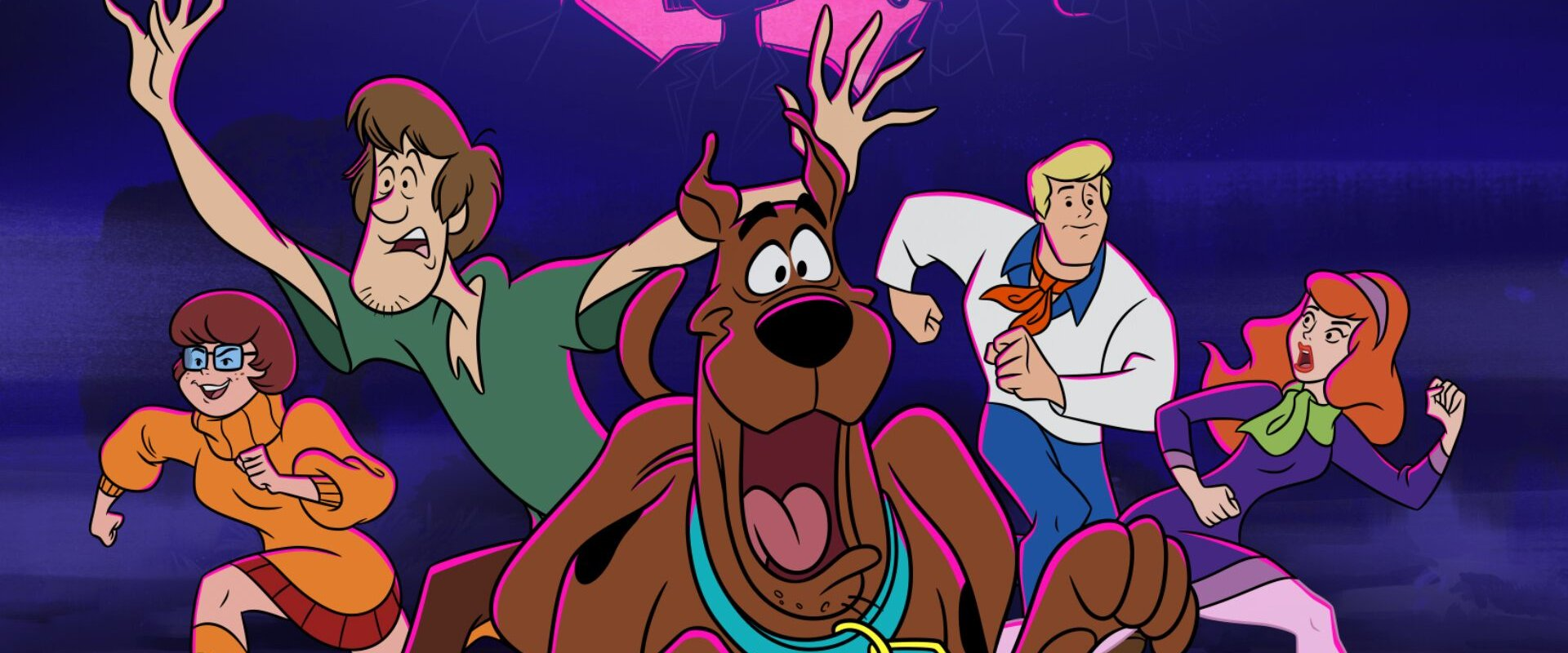 Scooby Doo and his team