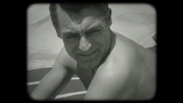 Black & White Cary Grant home video