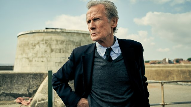 Bill Nighy gazes into the distance